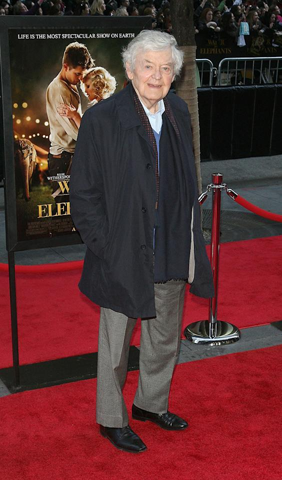 "<a href=""http://movies.yahoo.com/movie/contributor/1800044018"">Hal Holbrook</a> attends the New York premiere of <a href=""http://movies.yahoo.com/movie/1810161083/info"">Water for Elephants</a> on April 17, 2011."