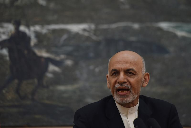 Afghan President Ashraf Ghani's government has drawn criticism for failing to end growing insurgent attacks (AFP Photo/Shah Marai)