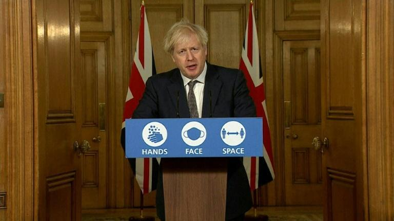Boris Johnson rules out tougher Christmas virus curbs for the UK