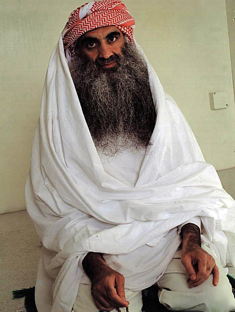 Alleged al Qaeda kingpin Khalid Sheik Mohammed, in detention at Guantanamo, in a 2009 file image. (Photo by Jarret Brachman/Miami Herald/TNS/Sipa USA)