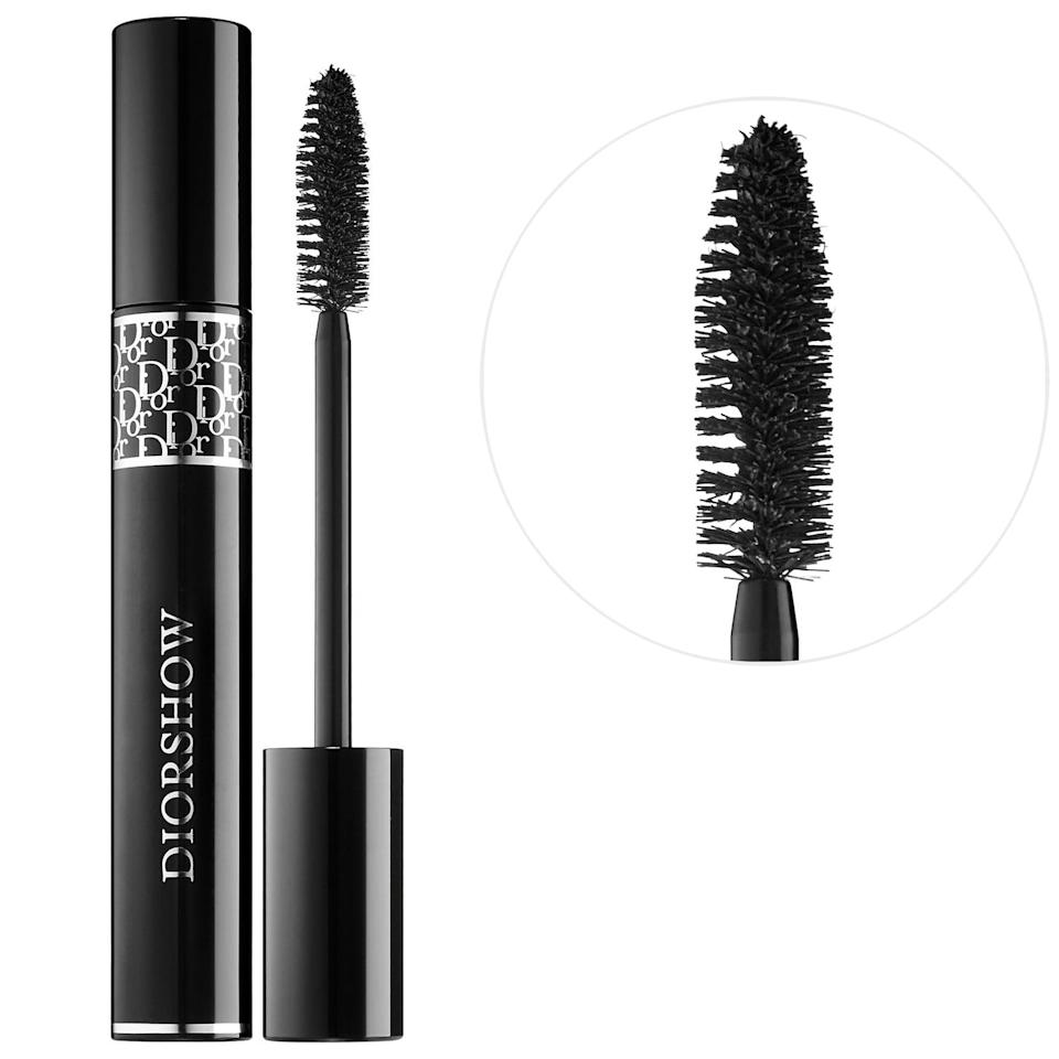 <p><span>Dior Diorshow Mascara</span> ($30) is infused with silk proteins that strengthen the lashes and gives the illusion of lash extensions.</p>