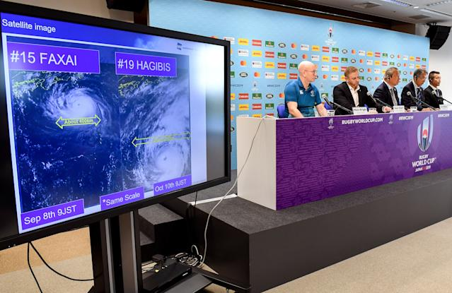Rugby World Cup organisers (Credit: Getty Images)