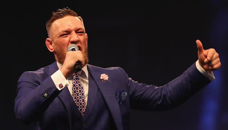 McGregor fires back at Malignaggi, Rousey hints at announcement, Diaz talks class=