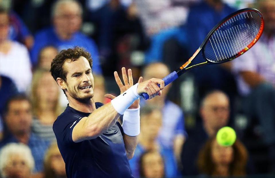 Murray inspired Britain to victory over Australia in the Davis Cup semi-finals, securing their first appearance in a final since 1978 (AFP Photo/Ian MacNicol)