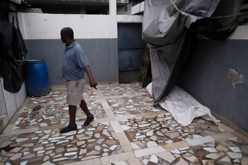 Aftermath of a 7.2 magnitude quake in Les Cayes