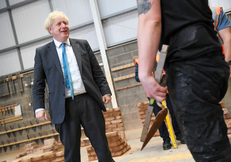 Johnson says he is fit as a butcher's dog after losing weight