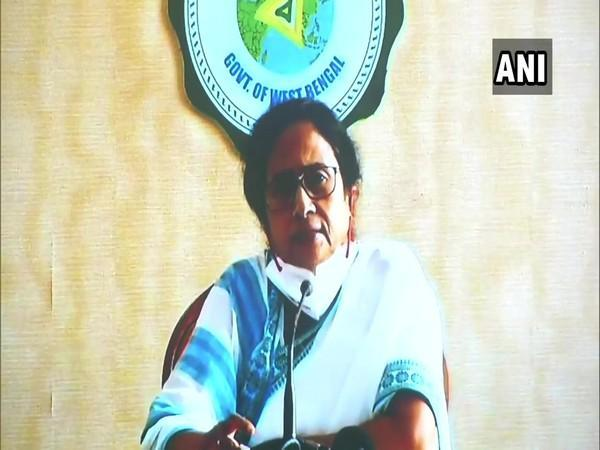 West Bengal Chief Minister Mamata Banerjee addressing a press conference in Kolkata on Saturday.