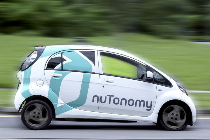 nutonomy self driving taxi boston testing