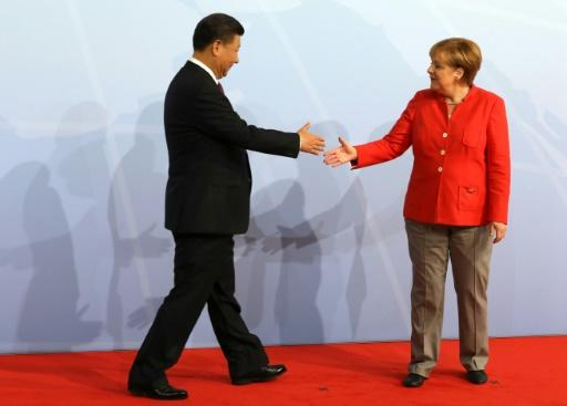 Merkel has visited China 11 times in her 12 years in power