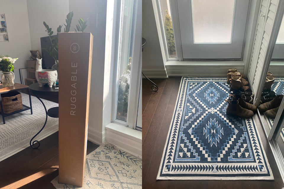 Our Ruggable carpet arrived ahead of schedule and fits perfectly in our new space.