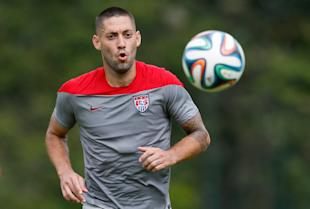 Captain America, Clint Dempsey, will play a vital role against Ghana. (Kevin C. Cox/Getty Images)