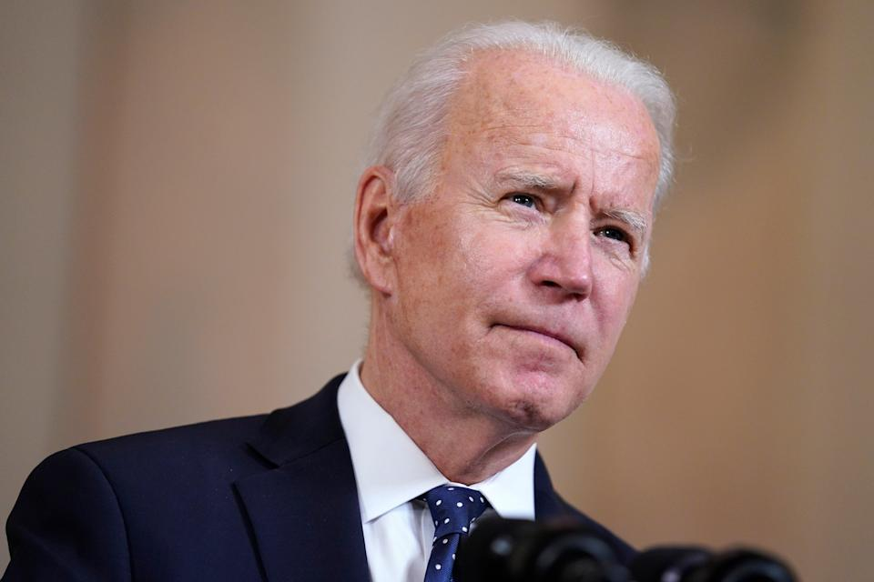 <p>Joe Biden is hoping it will encourage China and other big polluters to fast-track their own efforts before the COP26 meeting</p> (AP)
