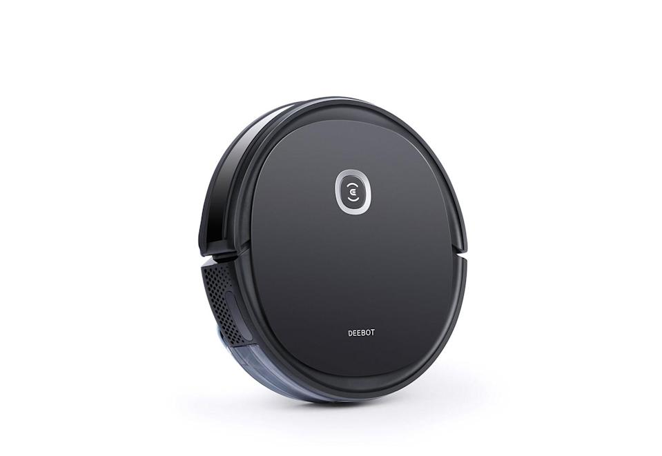 """<p>Two words: Robot. Vacuum. Choose your own adventure depending on the lucky recipient, from a model that keeps up with pet shedding to another that mops <em>and </em>vacuums (and self-cleans afterwards). </p> <p><strong>Buy It! </strong>Ecovacs Deebot, $169.00 - $599.99; <a href=""""https://www.ecovacs.com/us/deebot-robotic-vacuum-cleaner/DEEBOT-U2-PRO"""" rel=""""nofollow noopener"""" target=""""_blank"""" data-ylk=""""slk:ecovacs.com"""" class=""""link rapid-noclick-resp"""">ecovacs.com</a></p>"""