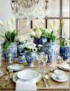 "<p>What better excuse to invest in luxe dinnerware than Christmas?<br>Blue and white crockery has risen in popularity this year but if you're on a budget look to the likes of <a rel=""nofollow noopener"" href=""https://www.anthropologie.com/en-gb/kitchen-dinnerware?color=blue"" target=""_blank"" data-ylk=""slk:Anthropologie"" class=""link rapid-noclick-resp"">Anthropologie</a> for chic alternatives. <em>[Photo: Pinterest via blog.shopmkstyle.com]</em> </p>"