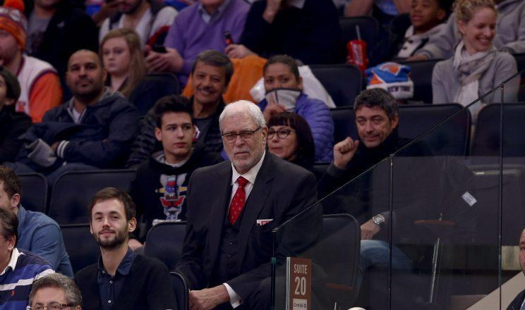 Phil Jackson's Knicks tenure hasn't been successful. (Getty Images)