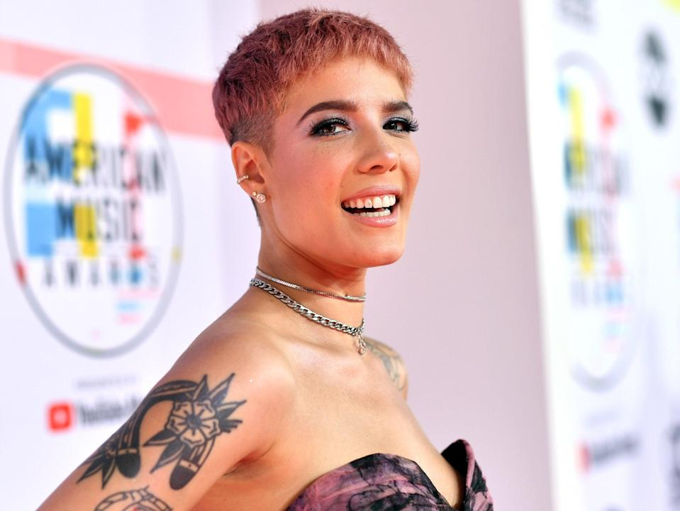 Halsey has called out the Grammy Awards over 2021 nominations (Getty Images For dcp)