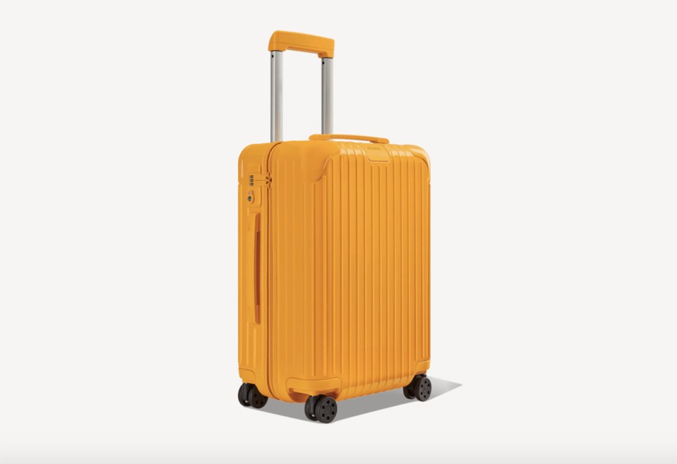 """<p><strong>Rimowa</strong></p><p>Rimowa</p><p><strong>$680.00</strong></p><p><a href=""""https://go.redirectingat.com?id=74968X1596630&url=https%3A%2F%2Fwww.rimowa.com%2Fus%2Fen%2Fluggage%2Fcolour%2Forange%2Fcabin%2F83253934.html&sref=https%3A%2F%2Fwww.elledecor.com%2Flife-culture%2Ftravel%2Fg36806316%2Fsummer-travel-necessities%2F"""" rel=""""nofollow noopener"""" target=""""_blank"""" data-ylk=""""slk:Shop Now"""" class=""""link rapid-noclick-resp"""">Shop Now</a></p><p>You can't travel without a trusty suitcase. The renowned luggage company Rimowa has you covered with its polycarbonate exterior and its TSA-approved locks. Plus, the <a href=""""https://go.redirectingat.com?id=74968X1596630&url=https%3A%2F%2Fwww.rimowa.com%2Fus%2Fen%2Fstories%2Frimowa-soho-nyc-passport-studio.html%3Fgclid%3DCj0KCQjwub-HBhCyARIsAPctr7xMAkfO4NHouEW1paimOj1njbUDQLHSQE9WGLRk8Y6f1Yuj8qFXjvYaAkeLEALw_wcB%26gclsrc%3Daw.ds&sref=https%3A%2F%2Fwww.elledecor.com%2Flife-culture%2Ftravel%2Fg36806316%2Fsummer-travel-necessities%2F"""" rel=""""nofollow noopener"""" target=""""_blank"""" data-ylk=""""slk:Rimowa's SoHo outpost"""" class=""""link rapid-noclick-resp"""">Rimowa's SoHo outpost</a> in New York opened their new """"passport studio,"""" where you can take complimentary passport photos in a private booth, no appointment needed. The best part? You can take as many as you want. </p>"""