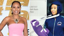 Mel B rushed to hospital with broken ribs and 'severed' hand