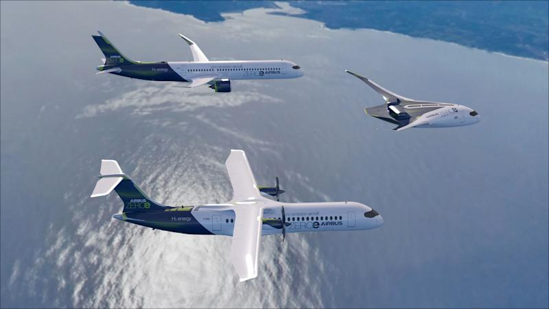 The aircraft could enter service by 2035 (Airbus/PA)