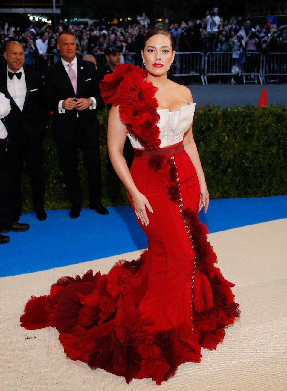 <p>The 2017 Met Gala: A-game = brought.</p>