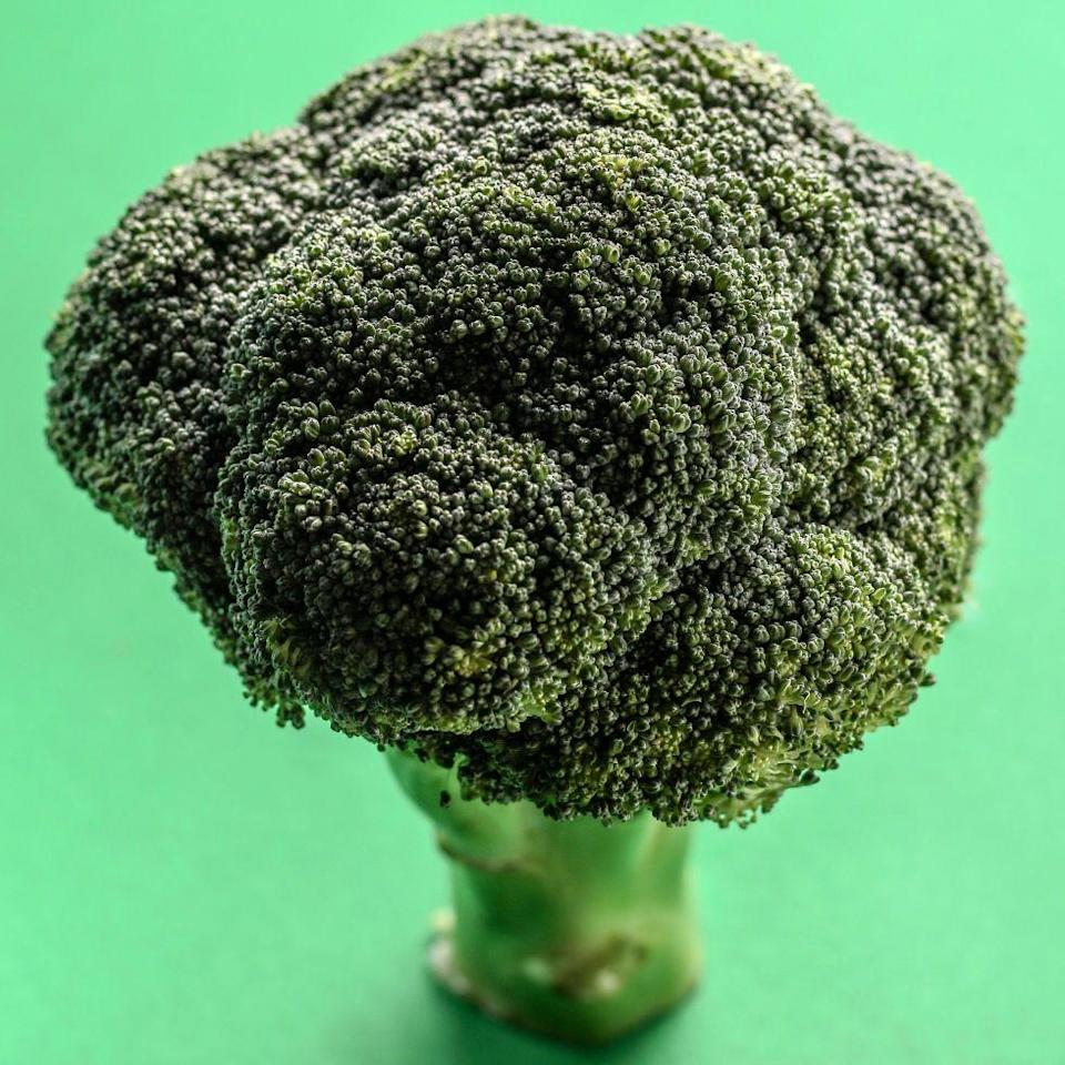 """<p>Adding some broccoli to your plate will do your body good. Since the veggie is packed with fiber, steaming a few cups for dinner or eating a handful as a snack will keep your cholesterol levels in check.</p><p><strong>Follow <a href=""""http://www.facebook.com/REDBOOK"""" rel=""""nofollow noopener"""" target=""""_blank"""" data-ylk=""""slk:Redbook on Facebook"""" class=""""link rapid-noclick-resp"""">Redbook on Facebook</a>.</strong></p>"""