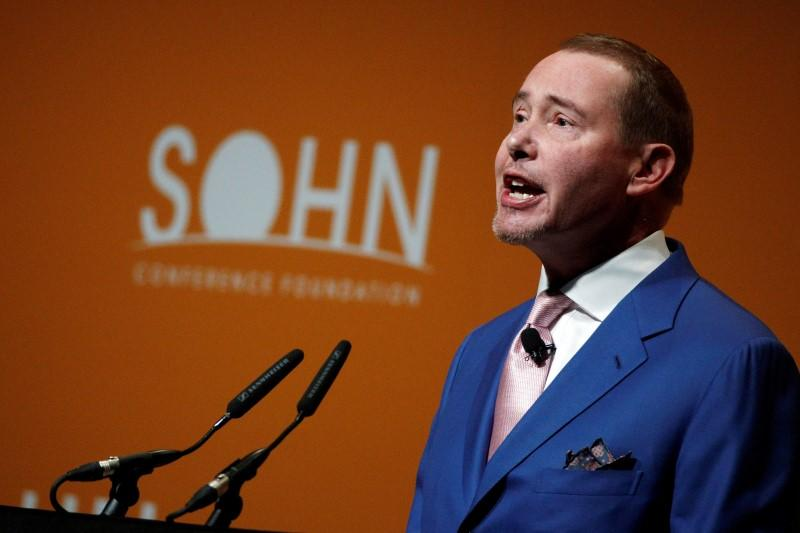 Jeffrey Gundlach, founder of DoubleLine Capital, speaks at the Sohn Investment Conference in New York City