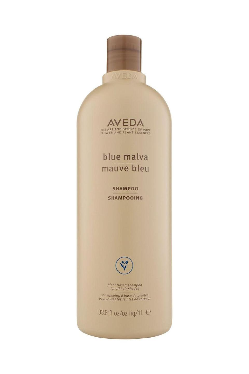 "<p><strong>Aveda</strong></p><p>nordstrom.com</p><p><strong>$57.00</strong></p><p><a href=""https://go.redirectingat.com?id=74968X1596630&url=https%3A%2F%2Fwww.nordstrom.com%2Fs%2Faveda-blue-malva-shampoo%2F3411877&sref=https%3A%2F%2Fwww.marieclaire.com%2Fbeauty%2Fhair%2Fg35970445%2Fbest-blue-shampoo-for-brunettes%2F"" rel=""nofollow noopener"" target=""_blank"" data-ylk=""slk:SHOP IT"" class=""link rapid-noclick-resp"">SHOP IT</a></p><p>Splurge for the big bottle of this glowingly-reviewed favorite, which taps the perennial blue malva herb to counteract unwanted brassiness in blonde, brunette and even gray strands. </p>"