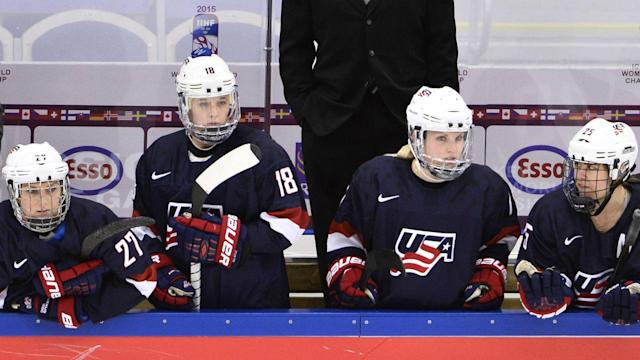 High schoolers are among the potential replacements USA Hockey has reached out to as it tries to fill a roster for the World Championship.