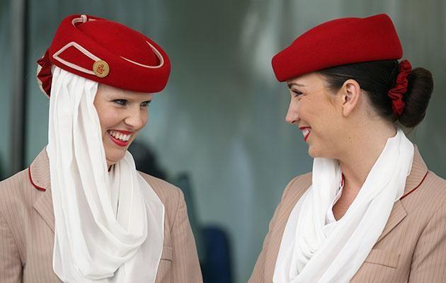 There are many perks to being an Emirates flight attendant. Photo: Getty.