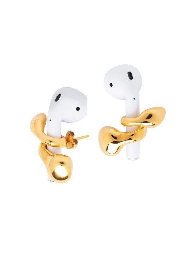 """<p><strong>MISHO</strong></p><p>MishoDesigns.com</p><p><strong>$121.18</strong></p><p><a href=""""https://www.mishodesigns.com/products/pebble-pods?variant=33293081968728"""" rel=""""nofollow noopener"""" target=""""_blank"""" data-ylk=""""slk:Shop Now"""" class=""""link rapid-noclick-resp"""">Shop Now</a></p><p>These beautifully designed earrings wrap around your Airpods making them both stylish and functional. </p>"""