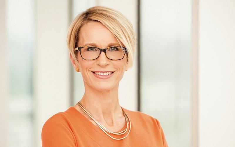 Companies with lots of women executives, such as GSK's Emma Walmsley, tend to perform better, research suggests  - AFP