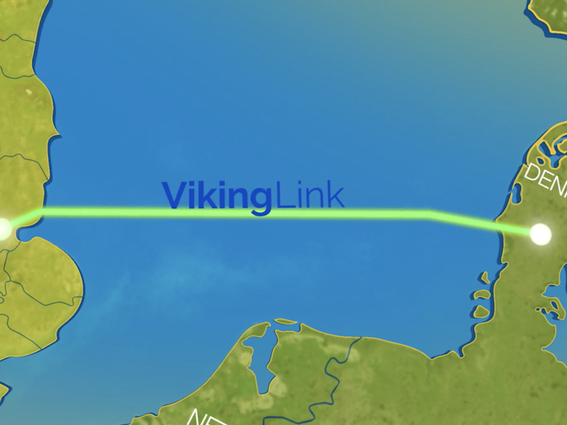 The electricity interconnector will run from Bicker Fen, Lincolnshire to a substation, Revsing, in South Jutland, Denmark: viking-link.com