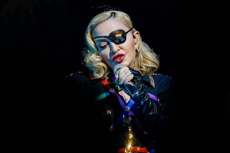 Madonna has cancelled her first London show: REUTERS