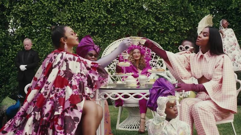Beyonce, Black is King Trailer, Kelly Rowland, Blue Ivy, Tina Knowles