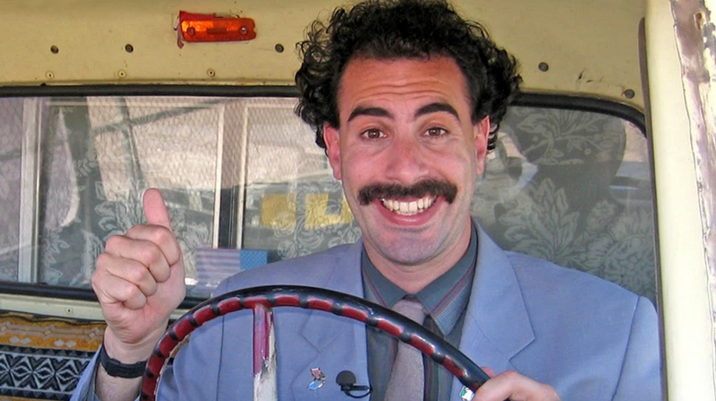 Borat Subequent Moviefilm (Credit: Amazon)