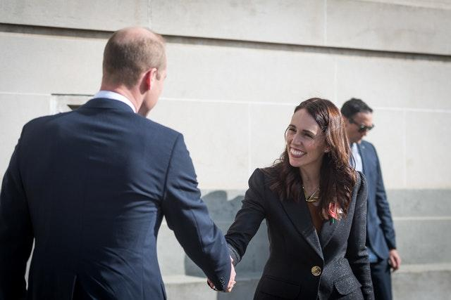 The Duke of Cambridge at the Auckland Anzac Day Civic Service