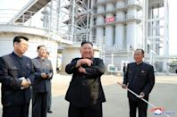Rumours about Kim Jong Un's health have been swirling since his conspicuous no-show at April 15 celebrations for the birthday of his grandfather, the North's founder