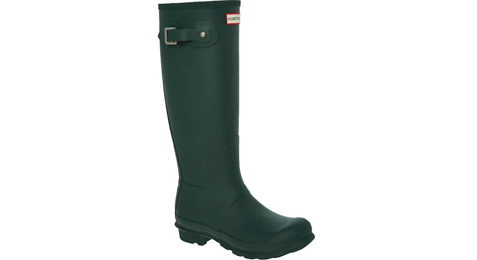 HUNTERS Green Knee High Wellies