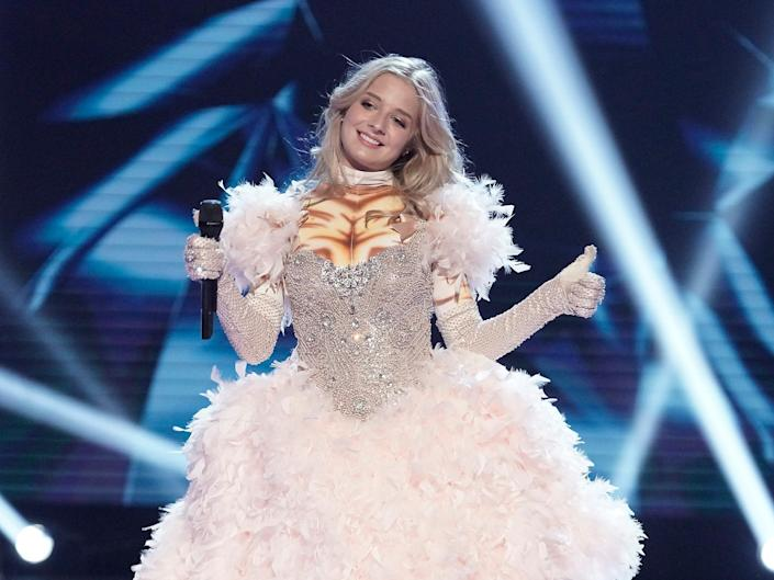 jackie evancho on the masked singer
