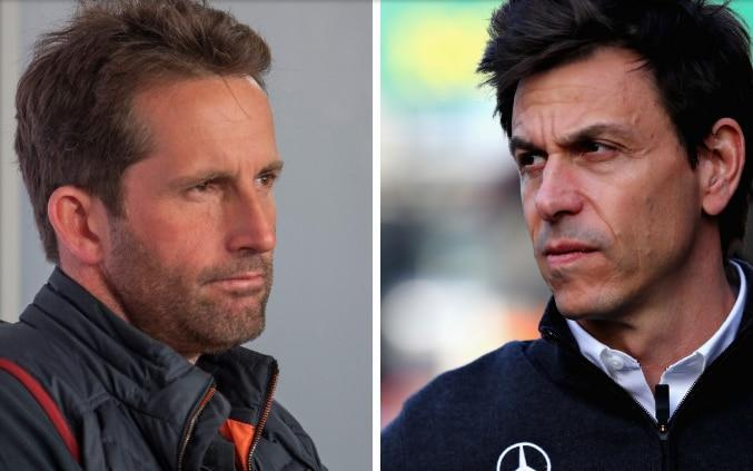 Sir Ben Ainslie and Toto Wolff — Exclusive interview, Sir Ainslie meets Toto Wolff: 'They say America's Cup is like F1 on the water — they're right' - GETTY IMAGES