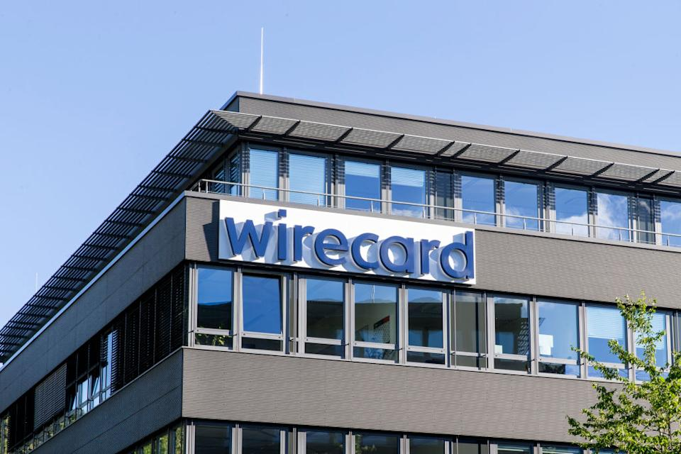 ASCHHEIM, GERMANY - JULY 05: The corporate headquarters of payments processor, Wirecard, stand on July 05, 2020 in Aschheim, Germany. Investigators recently raided the building searching Wirecard offices as well as the residence in Vienna of Wirecard CEO Markus Braun. The company recently declared bankruptcy and its executives are being investigated for fraud. (Photos by Christian Ender/Getty Images)