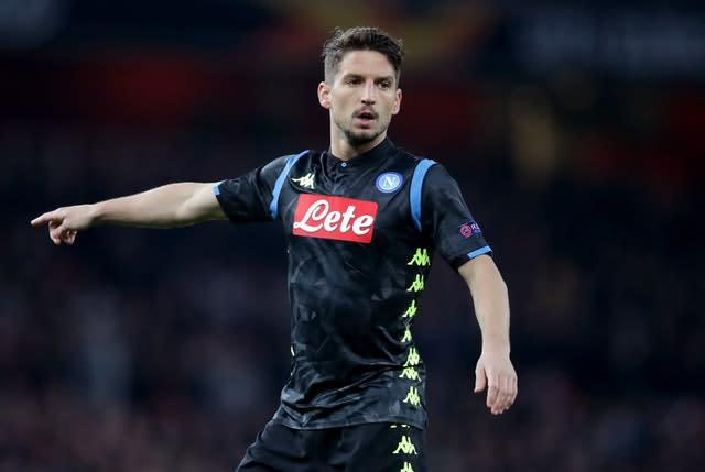 Dries Mertens has been linked with Chelsea (Adam Davy/PA)