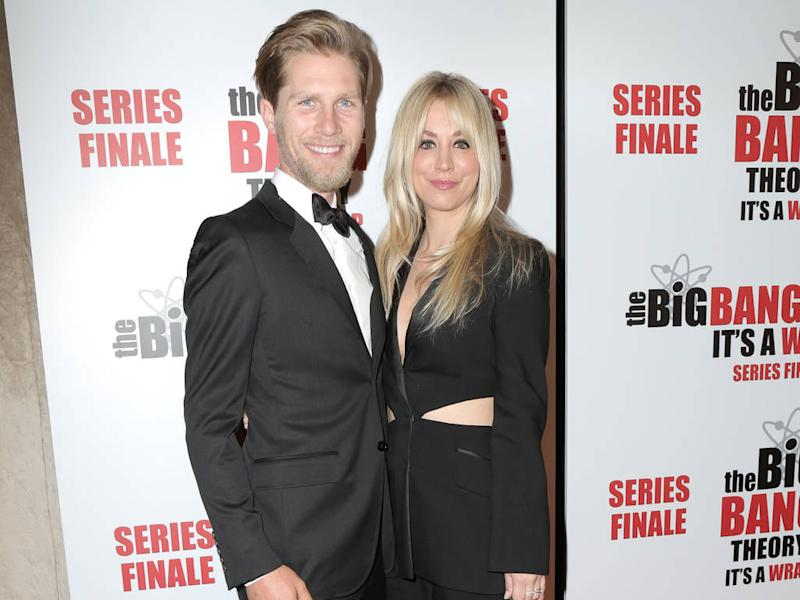 Kaley Cuoco moves in with husband after almost two years of marriage