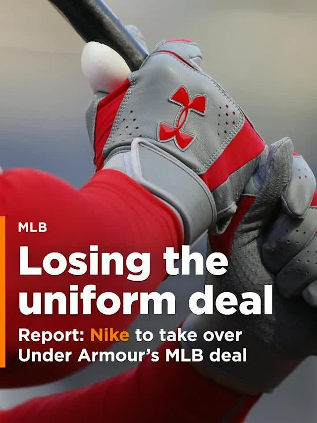 According to a report from the Sports Business Journal, Nike is close to completing a deal to take over Under Armour's upcoming uniform contract with Major League Baseball.