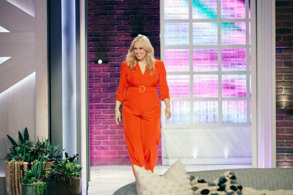 THE KELLY CLARKSON SHOW -- Episode 4101 -- Pictured: Rebel Wilson -- (Photo by: Weiss Eubanks/NBCUniversal/NBCU Photo Bank)