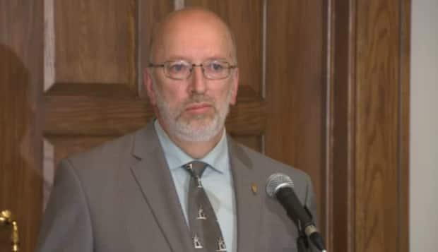 After leaving the Liberal caucus last fall, Perry Trimper has been re-elected as an Independent MHA in the Labrador district of Lake Melville. (CBC - image credit)