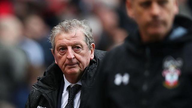 <p>Crystal Palace fans hoping for a response from their side on Saturday were left frustrated as the Eagles failed to score again, losing to Southampton thanks to Steven Davis' strike.</p> <br><p>The appointment of Roy Hodgson has earned a mixed reception and, while most expect the former England manager to keep Palace up thanks to his previous experience in the Premier League, the 70-year-old evidently has his work cut out for him.</p> <br><p>As if things weren't going badly enough currently, the Selhurst side play Manchester City, Manchester United and Chelsea in their next three Premier League matches.</p>