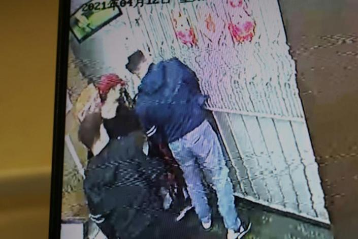 The attackers were caught on CCTV as they stormed into the printing press and smashed up equipment with sledgehammers
