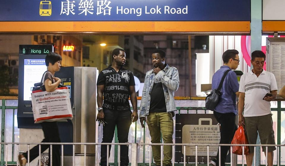 Many Africans in Hong Kong live and work in places such as Yuen Long. Photo: Dickson Lee