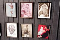 <p>Serving as inspiration to the notorious crime family in the show, the walls were lined with pictures of some of the world's most famous boxers. </p>